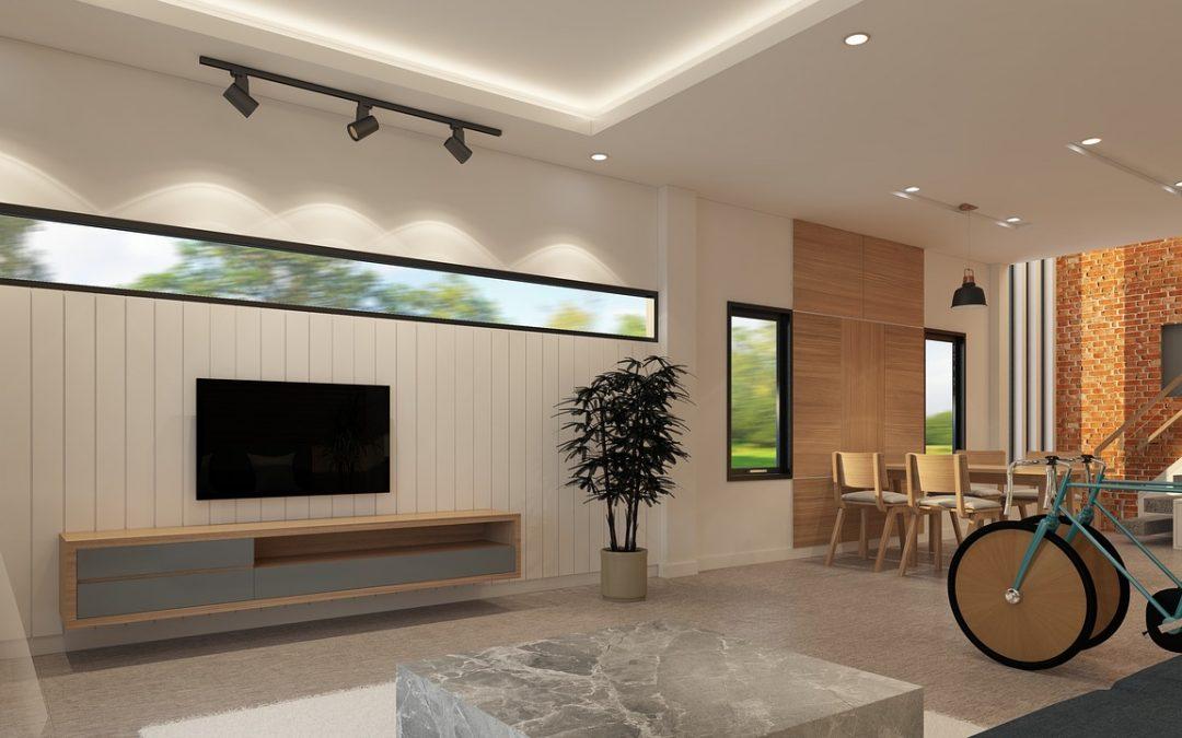 איך להתאים בין ריהוט הבית לרצפת בטון מוחלק?