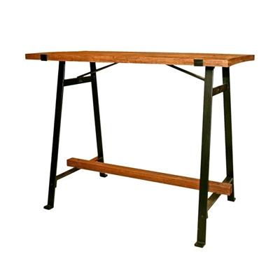 שולחן בר מעץ 1.30X70
