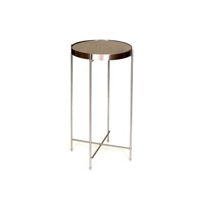 """שולחן עגול ברונזה 30 ס""""מ"""