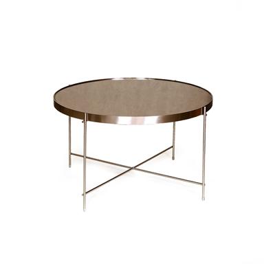 """שולחן עגול ברונזה 62 ס""""מ"""
