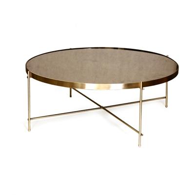 """שולחן עגול ברונזה 80 ס""""מ"""