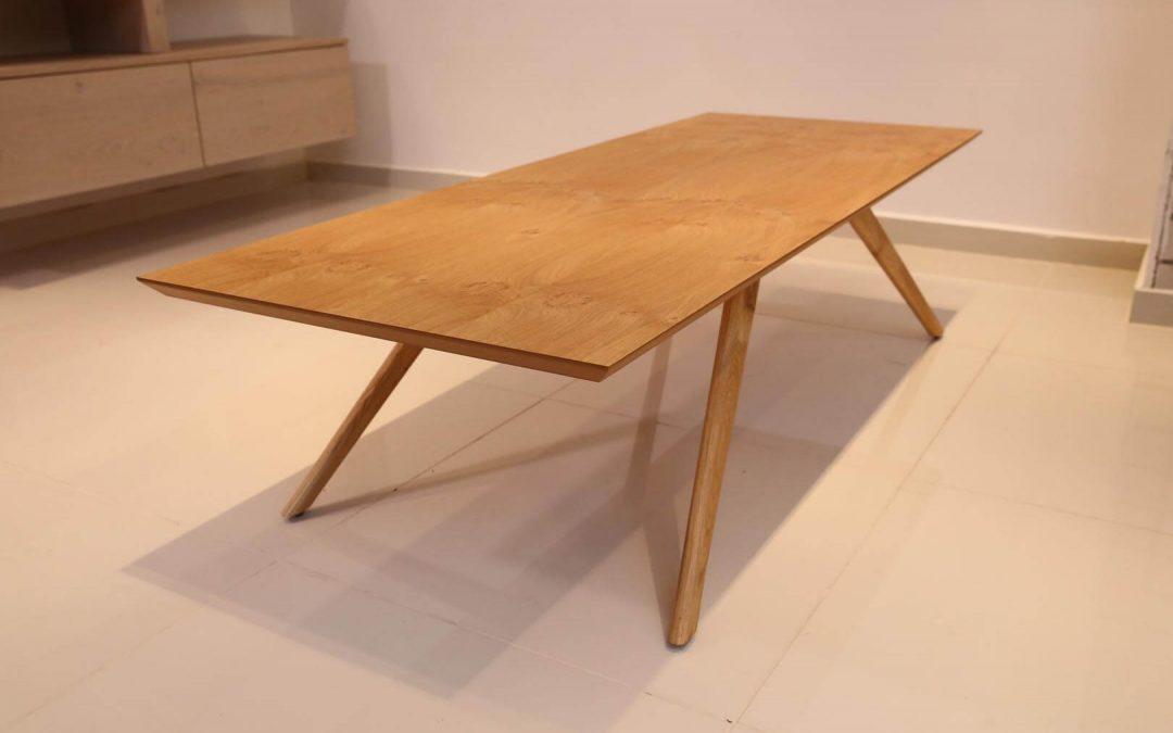 שולחן סלון מעץ דגם 'אניס'