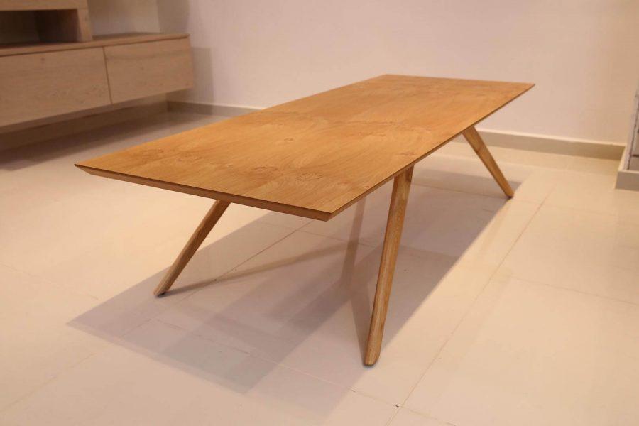 שולחן סלון מעץ דגם אניס