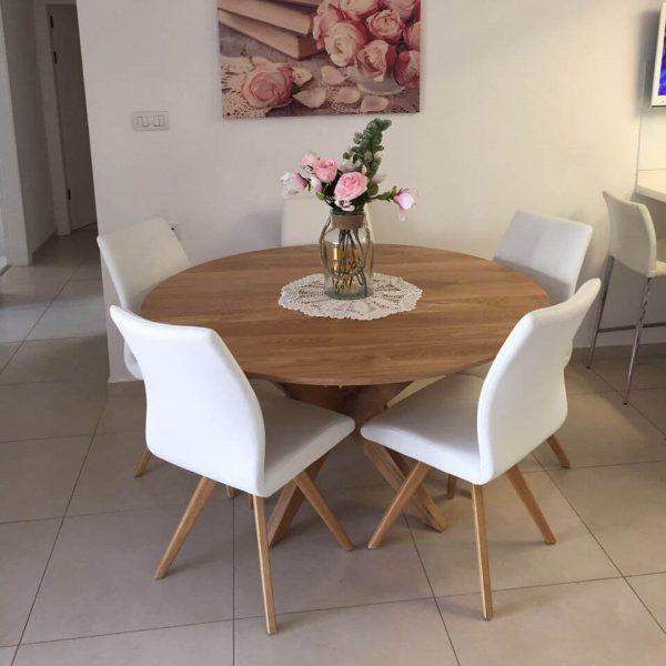 שולחן עגול דגם 'לייט'