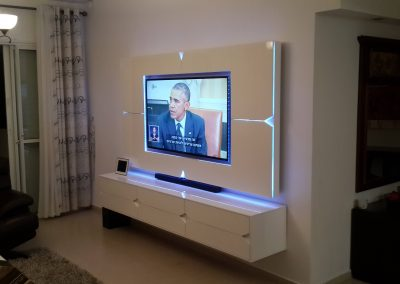 מסגרת לטלויזיה דגם מעויינים