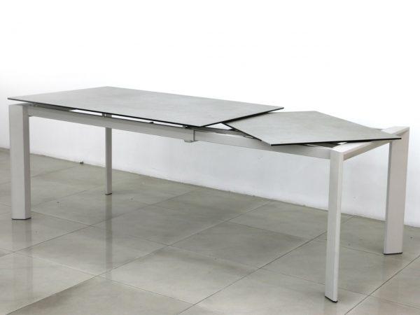 שולחן פינת אוכל דמוי שיש לבן